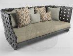 плетеный трехместный диван для сада Canasta.JPG